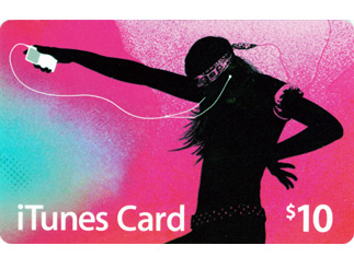 Free iTunes Gift Card 10