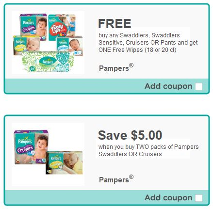 Get these Valuable Coupons for Pampers Products . Just follow the link