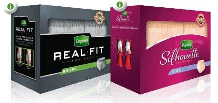 Free Sample of Depend Underwear | Free Stuff Finder Canada