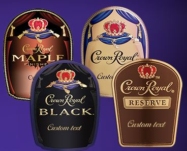 crown royal labels