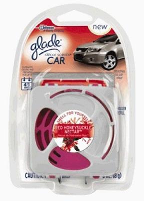 glade decor scents car