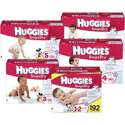 Huggies Diaper Sizes