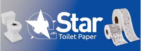 star toilet paper sample