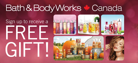 bath and body works free gift