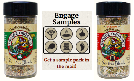 engage organics seasoning
