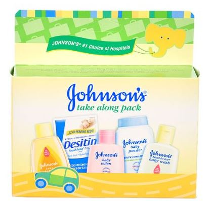 johnson & johnson sample pack