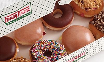 bogo coupon free dozen krispy kreme doughnuts free. Black Bedroom Furniture Sets. Home Design Ideas