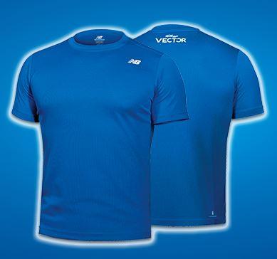 new balance blue shirt
