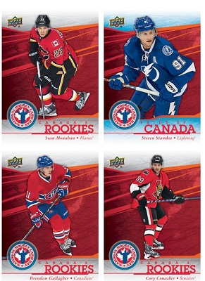 Free Pack 2014 National Hockey Cards From Upper Deck Free Stuff