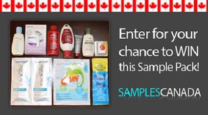 Enter to win free sample pack free stuff finder canada