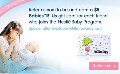 nestle gift card offer