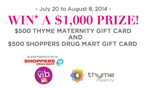 Shoppers drug contest