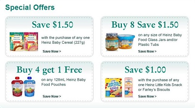 Baby coupons and free samples canada