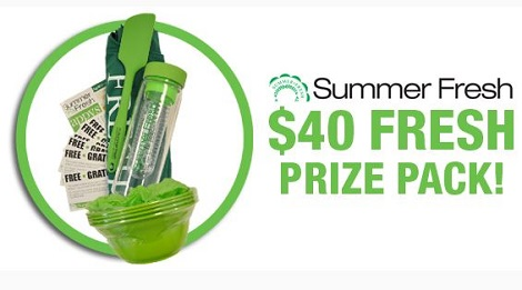 Flash Giveaway Win Summer Fresh Prize Pack Free Stuff
