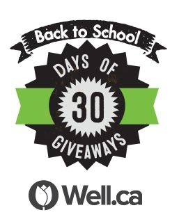 well.ca 30 day giveaway