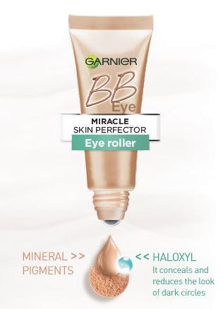 garnier bb eye roller