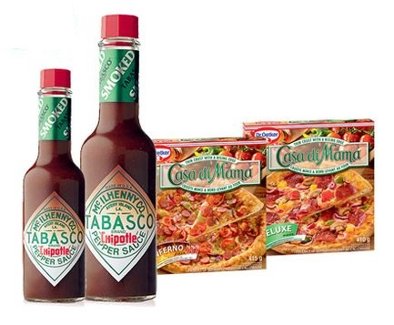 tabasco and oetker contest
