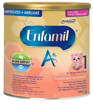 enfamil A+ Thickend