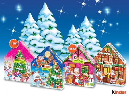 free kinder advent calendar giveaway free stuff finder canada. Black Bedroom Furniture Sets. Home Design Ideas