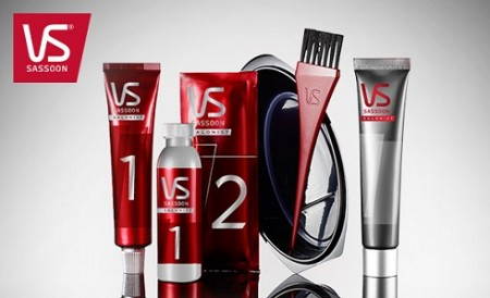 vidal sassoon hair color products