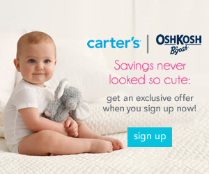 carters offer
