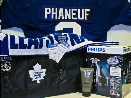 maple leafs prize pack