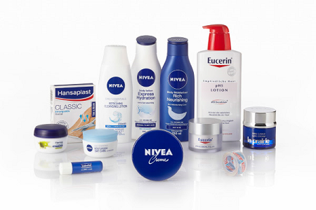 nivea beauty products