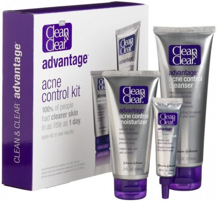 Clean Amp Clear Advantage Acne Control Kit Coupon Free