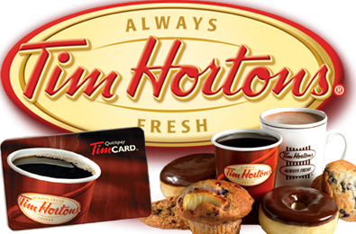 how to get free tim hortons