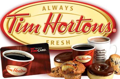 tim horton's gift cards