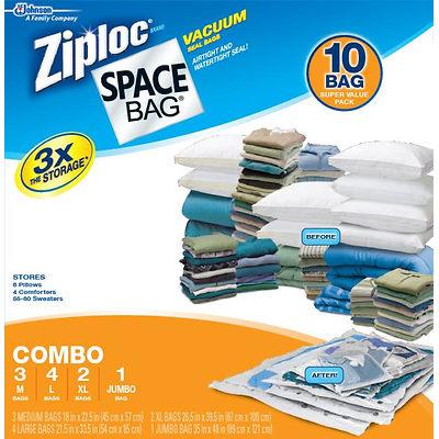 ziploc spacebags