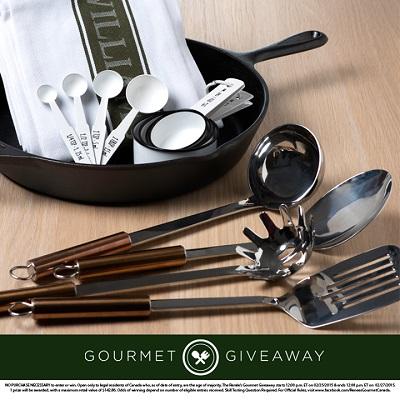 gourmet giveaway