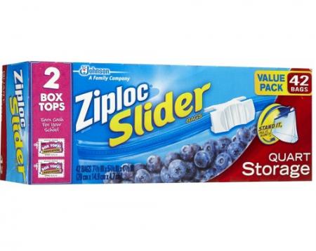 ziploc slider bags