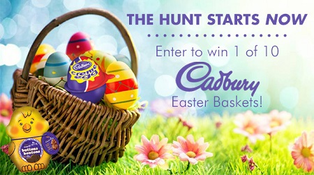 Win cadbury easter gift basket free stuff finder canada cadbury easter basket giveaway negle Image collections