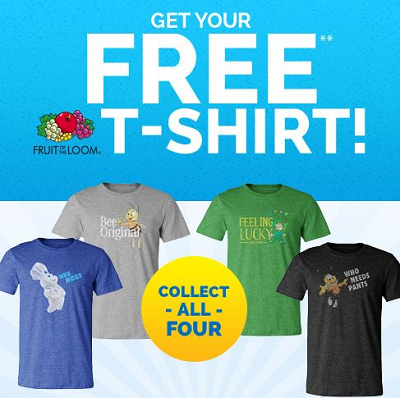 Free T-Shirts | Free Stuff Finder Canada