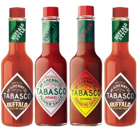 tabasco give it a shot