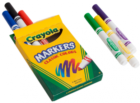 free-6pack-crayola-markers