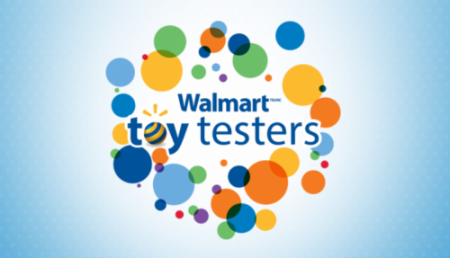 walmart toy tester event