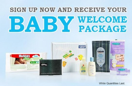 baby welcome package london drug