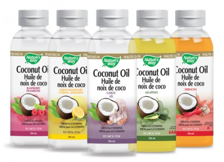 coconut oil sampling