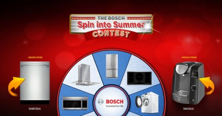 Bosch spin to win contest
