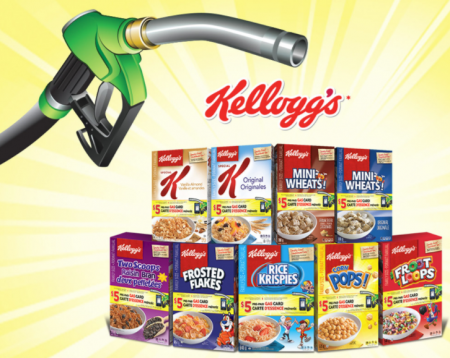 kelloggs gas card promotion
