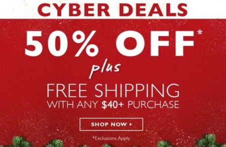 cyber deals the body shop
