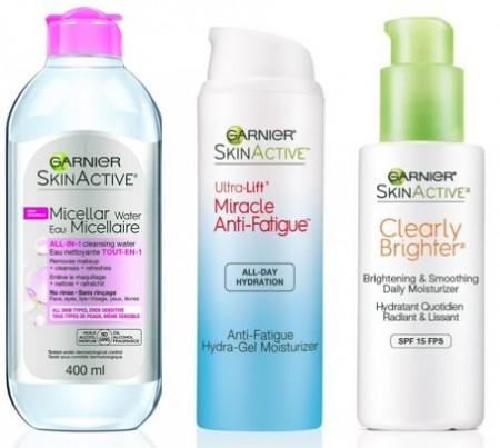 garnier skinactive products