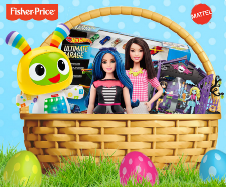 Win mattel easter gift basket 1000 value free stuff finder canada free mattel easter giveaway negle Image collections