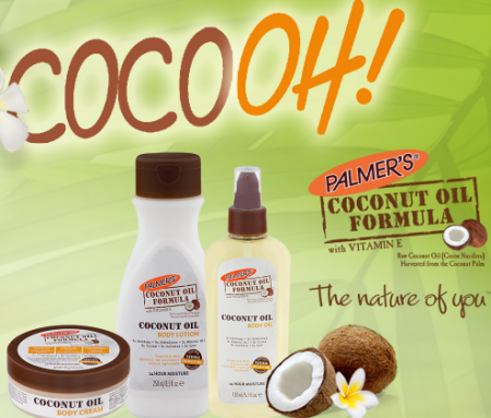 palmers coconut oil giveaway