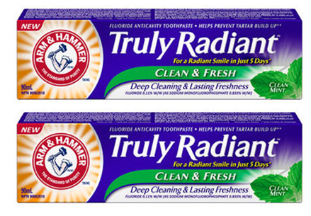 arm & hammer truly radiant