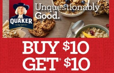 quaker oats promotion
