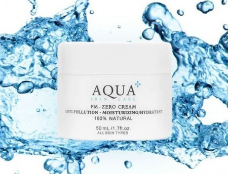 aqua skincare sample