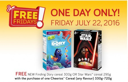 dory starwars cereal coupon